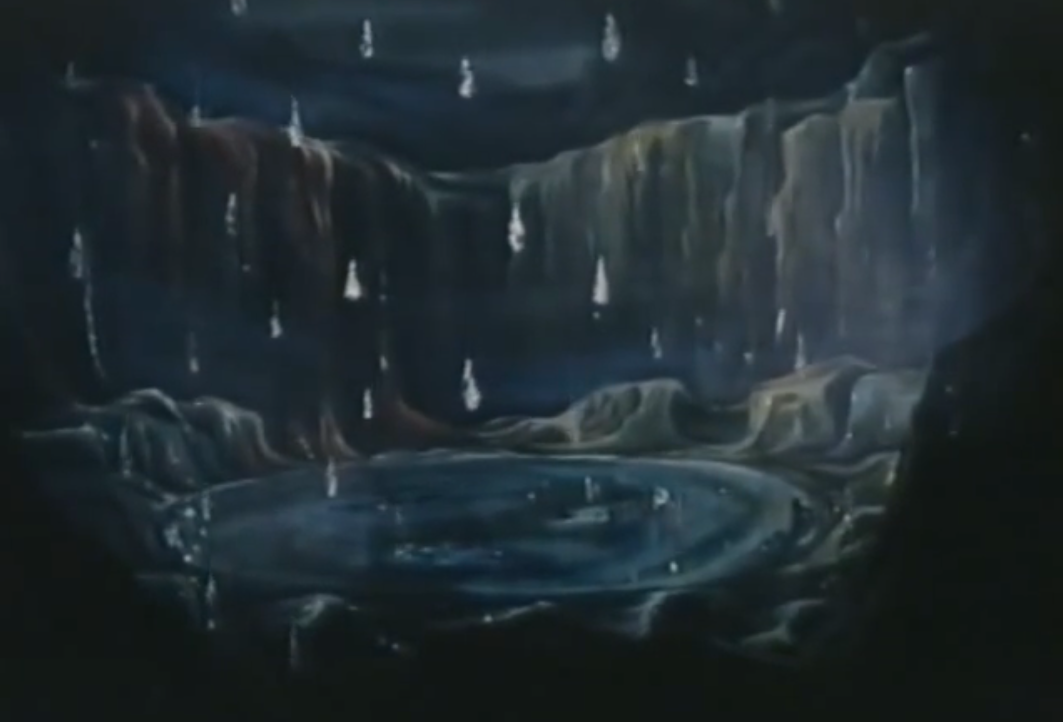 """Lake of tears"" scene from Michael Powell's 1963 television adaptation of  Bartók's  Duke Bluebeard's Castle"
