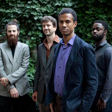 Avishai Cohen ,  Joe Martin , Mark Turner , & Marcus Gilmore (image: John Rogers/ECM Records)