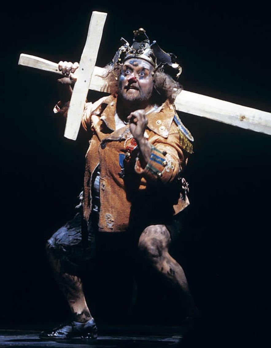 Aki Alamikkotervo  (Fool), from Heiskanen - Sallinen  Kuningas Lear