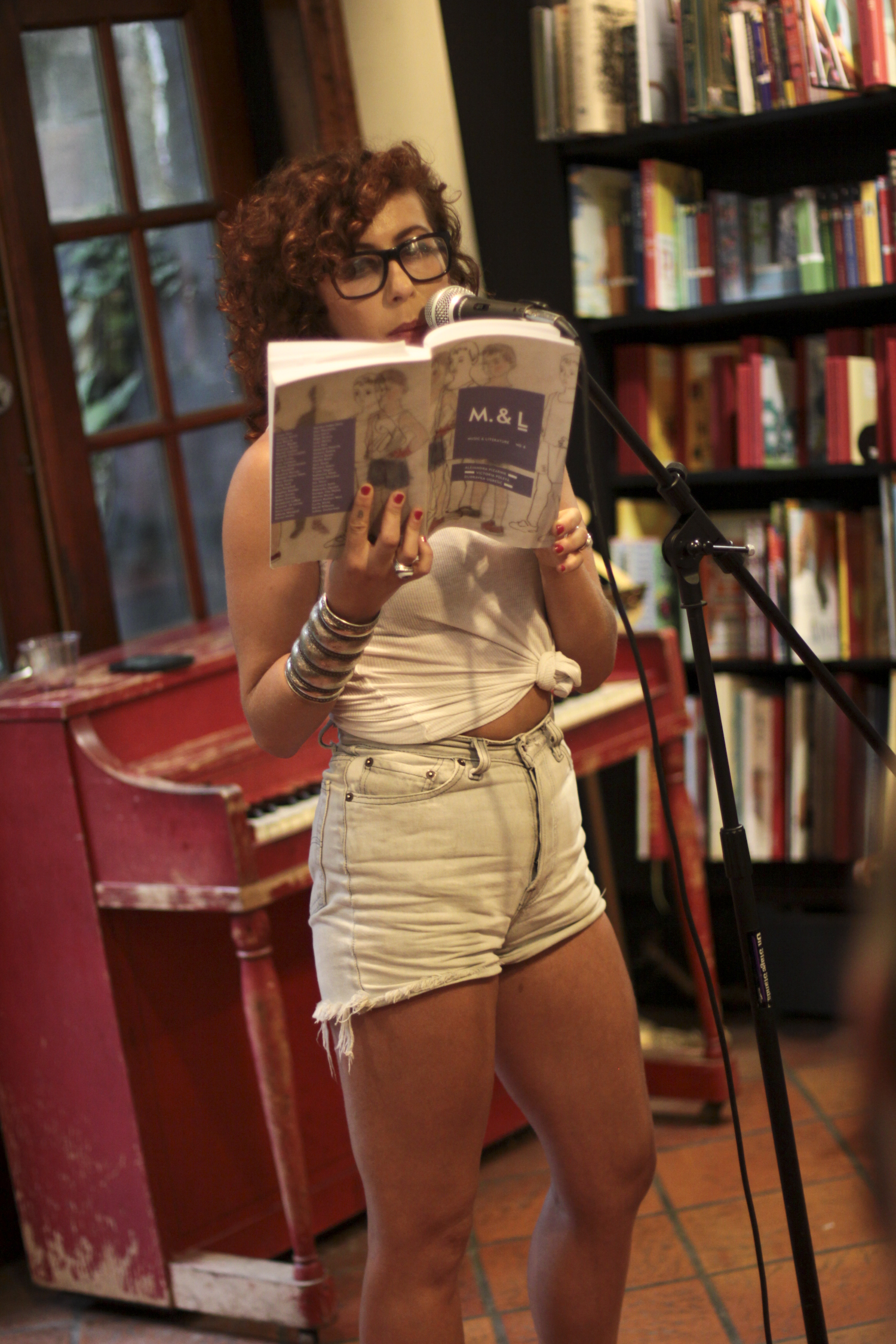 Ariana Reines reads selections from Alejandra Pizarnik's diaries.