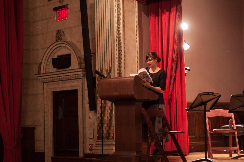 Valeria Luiselli reads from Alejandra Pizarnik's journals.