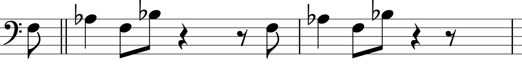 """Motif from  """"A Love Supreme""""  by  John Coltrane"""
