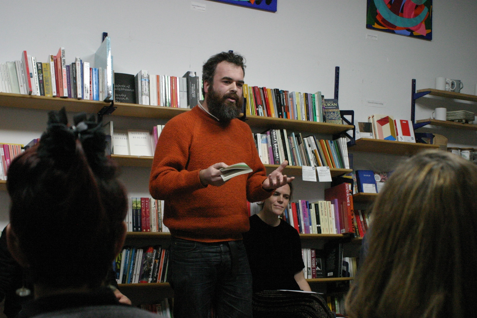 Jon Day reads from Griffiths' let me tell you
