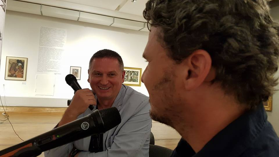 with  Dave Eggers
