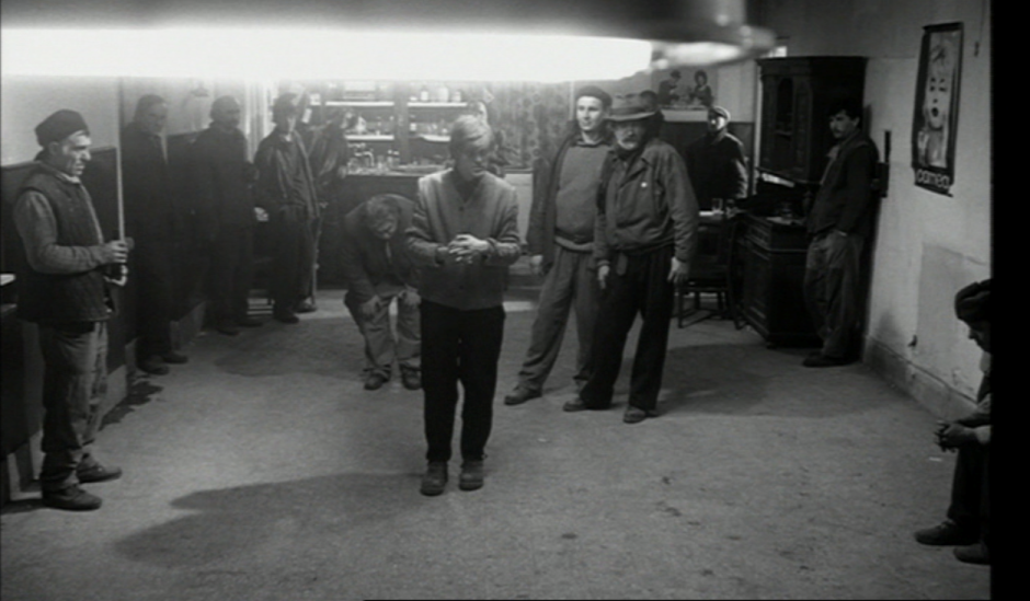 A still from  Werckmeister Harmonies  (2000), Béla Tarr's collaboration with László Krasznahorkai based on  The Melancholy of Resistance  (1989)