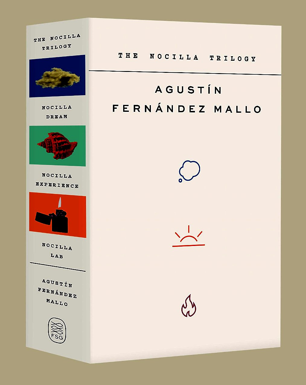 The Nocilla Trilogy: Nocilla Dream, Nocilla Experience, Nocilla Lab  by  Agustín Fernández Mallo  tr.  Thomas Bunstead  (Fitzcarraldo, 2017–2019; FSG, Feb. 2019)   Reviewed by Nick Oxford