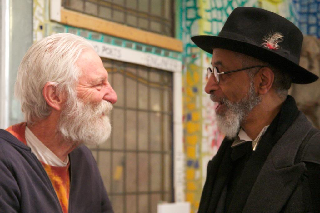 Isaiah Zagar and Richard J. Watson.