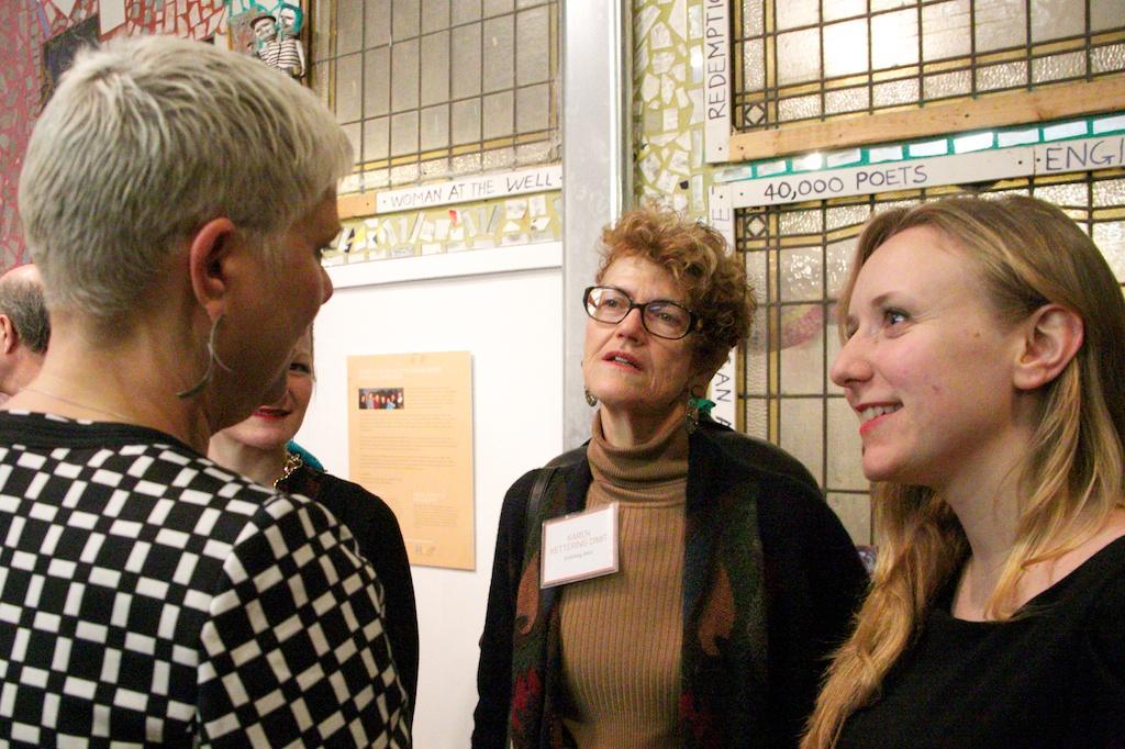 Nancie Mills Pipgras, Karen Kettering Dimit and Samantha Holmes.