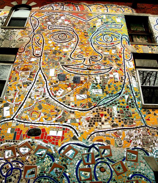 Mosaic by Isaiah Zagar