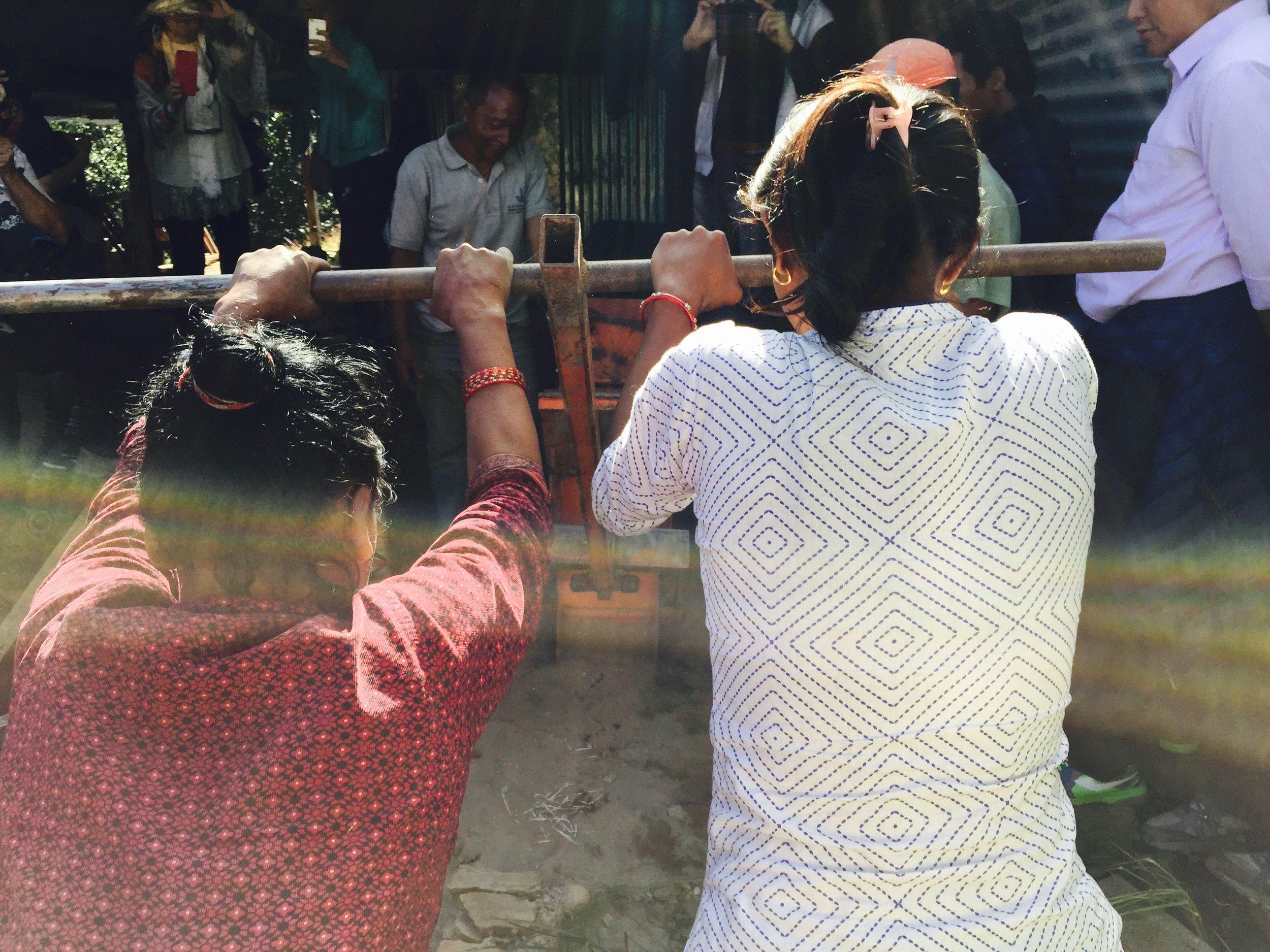 Rathankot Women Making Bricks Butterfly Wings