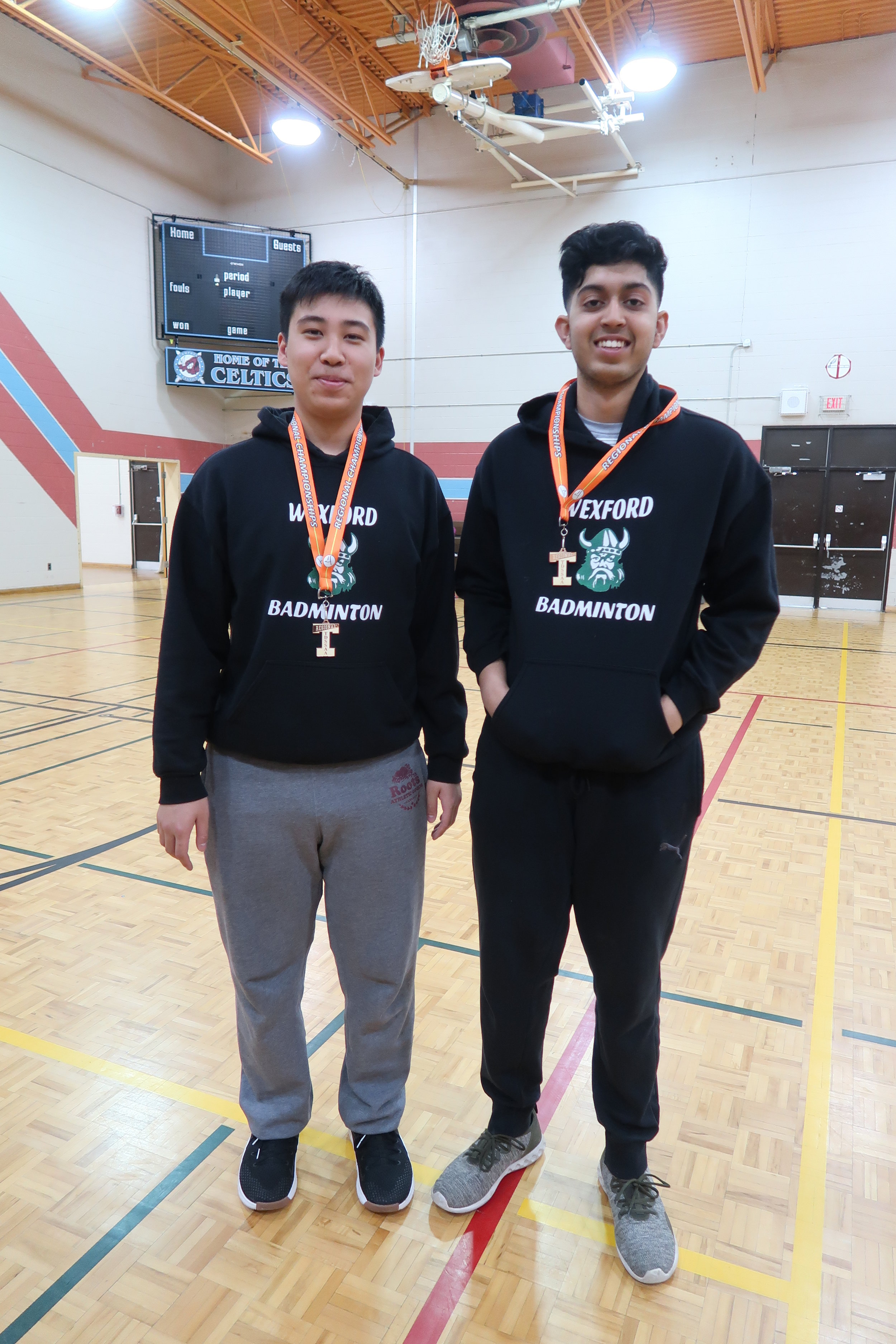 Badminton Boys A Doubles Goes to City Championships