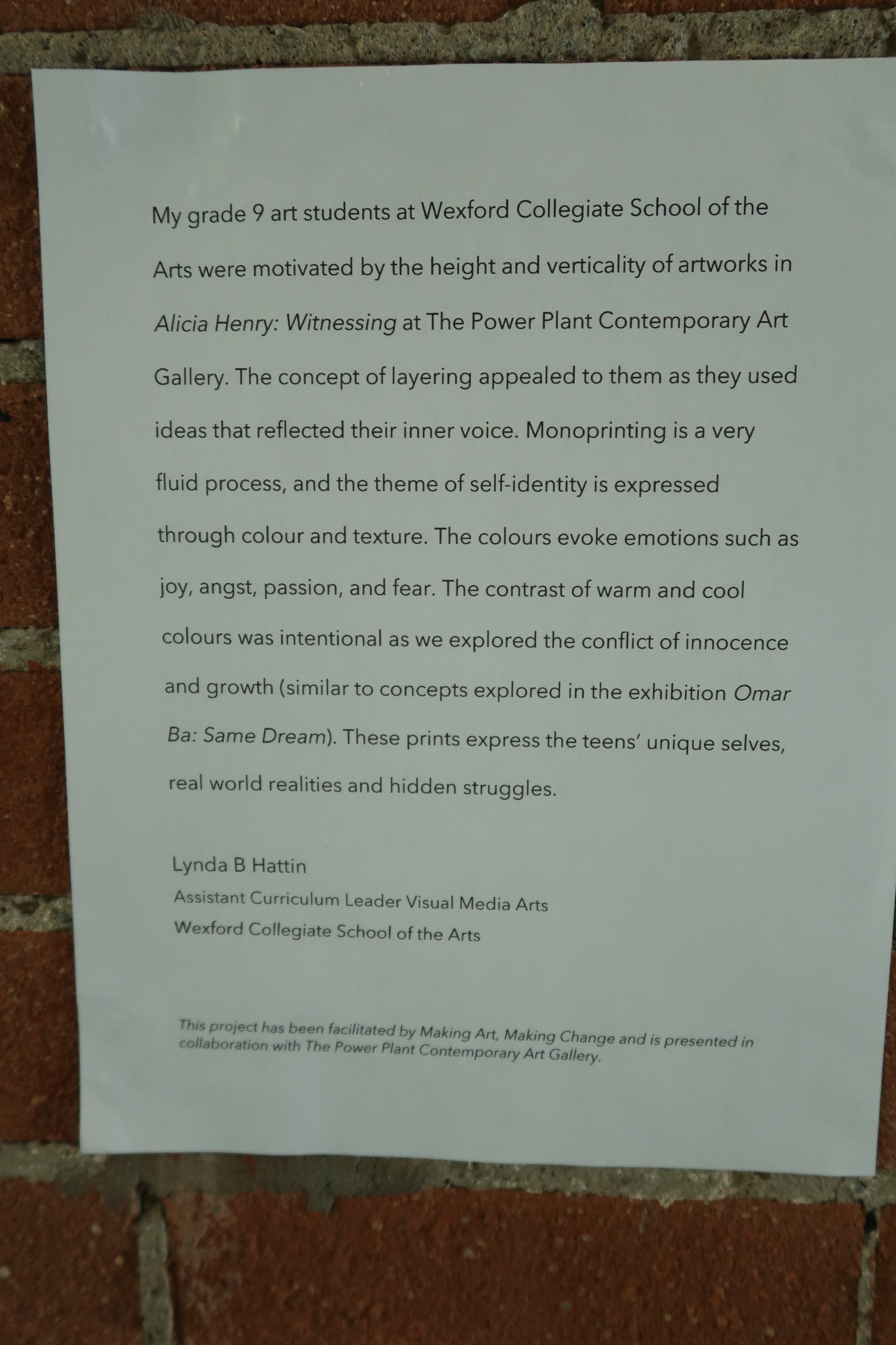 The Power Plant Contemporary Art Gallery - May 4, 2019