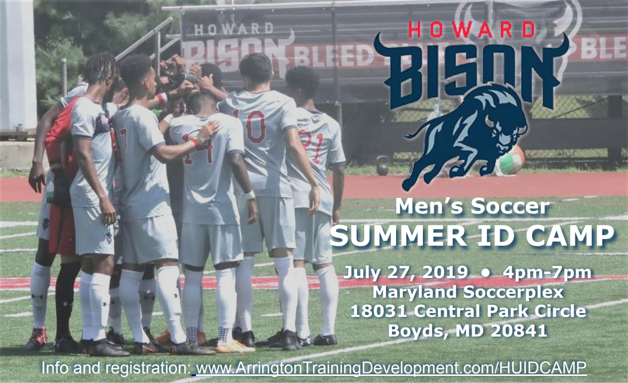 sports shoes ffbc1 90f83 Howard Soccer ID Camp — Arrington Training & Development