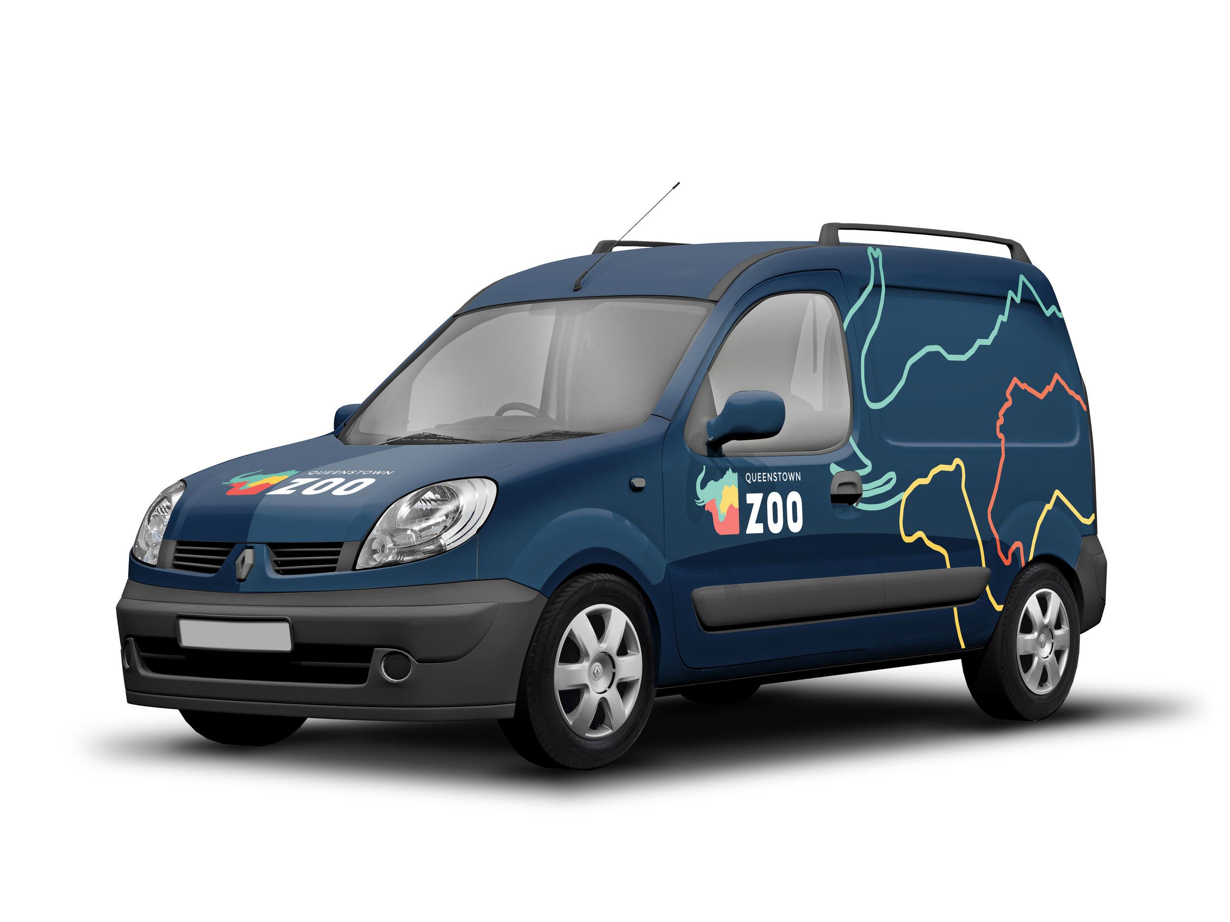 Vehicle Branding Mockup