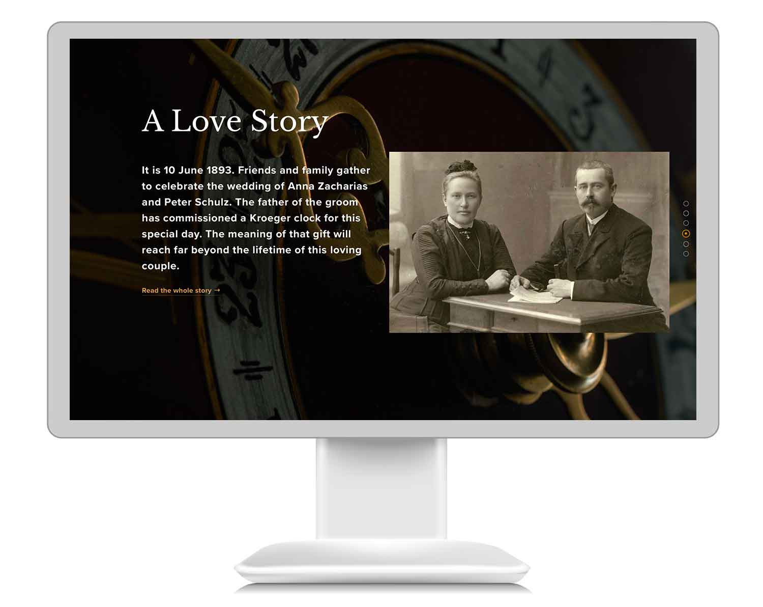 A virtual museum with stories, videos, blogs and exhibits.