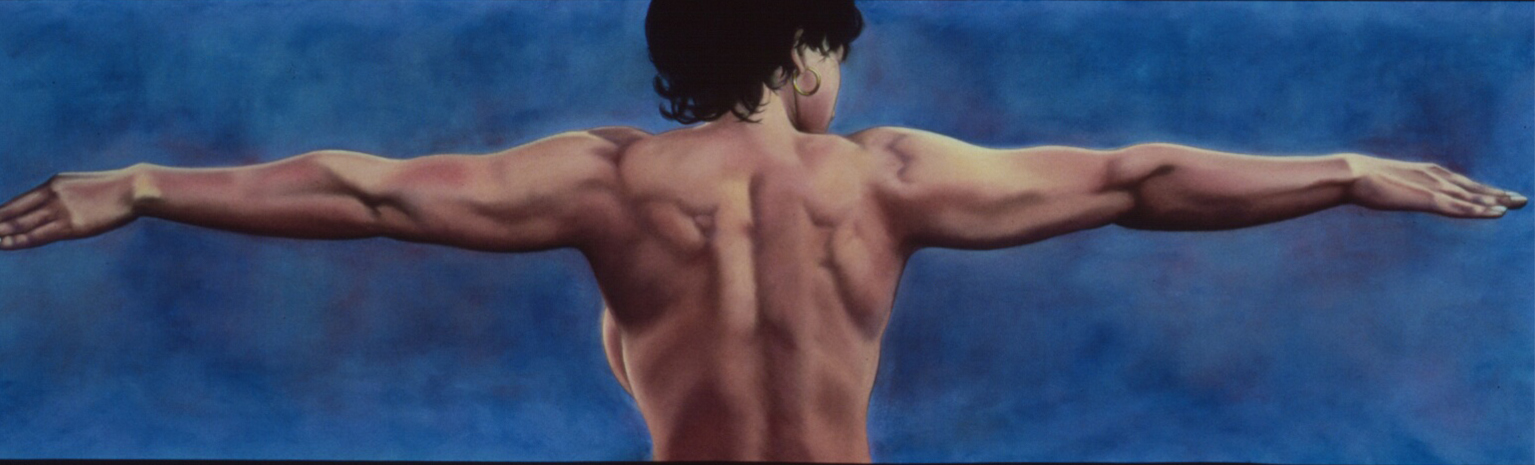 """""""Dive In""""pastel, 66x26"""""""