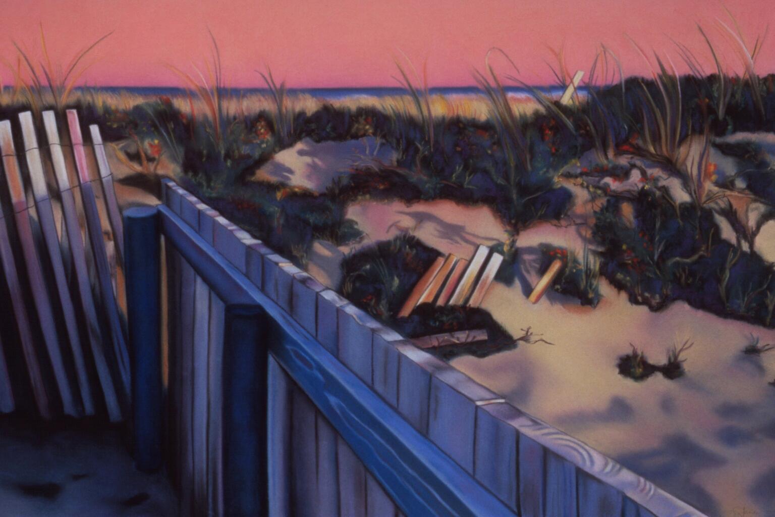 """The Cape""pastel, 50x35"""