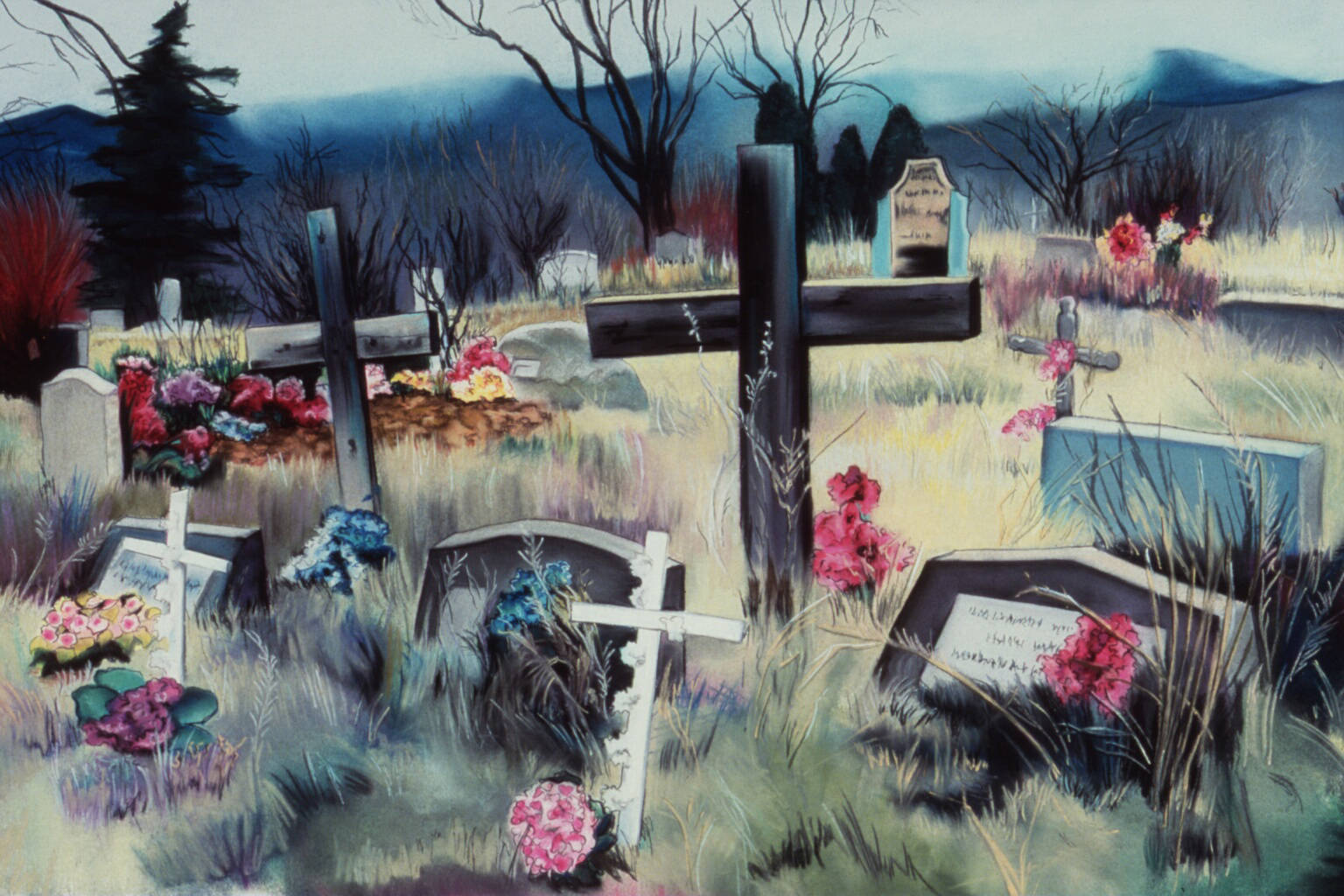 """""""The Dead of Winter"""" pastel, 35x24""""  AVAILABLE / $1,800"""