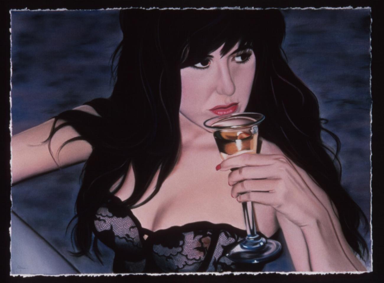 """""""Wine""""pastel, 35x24"""""""