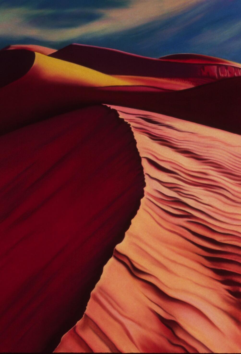 """Dunes"" pastel, 30x50"""