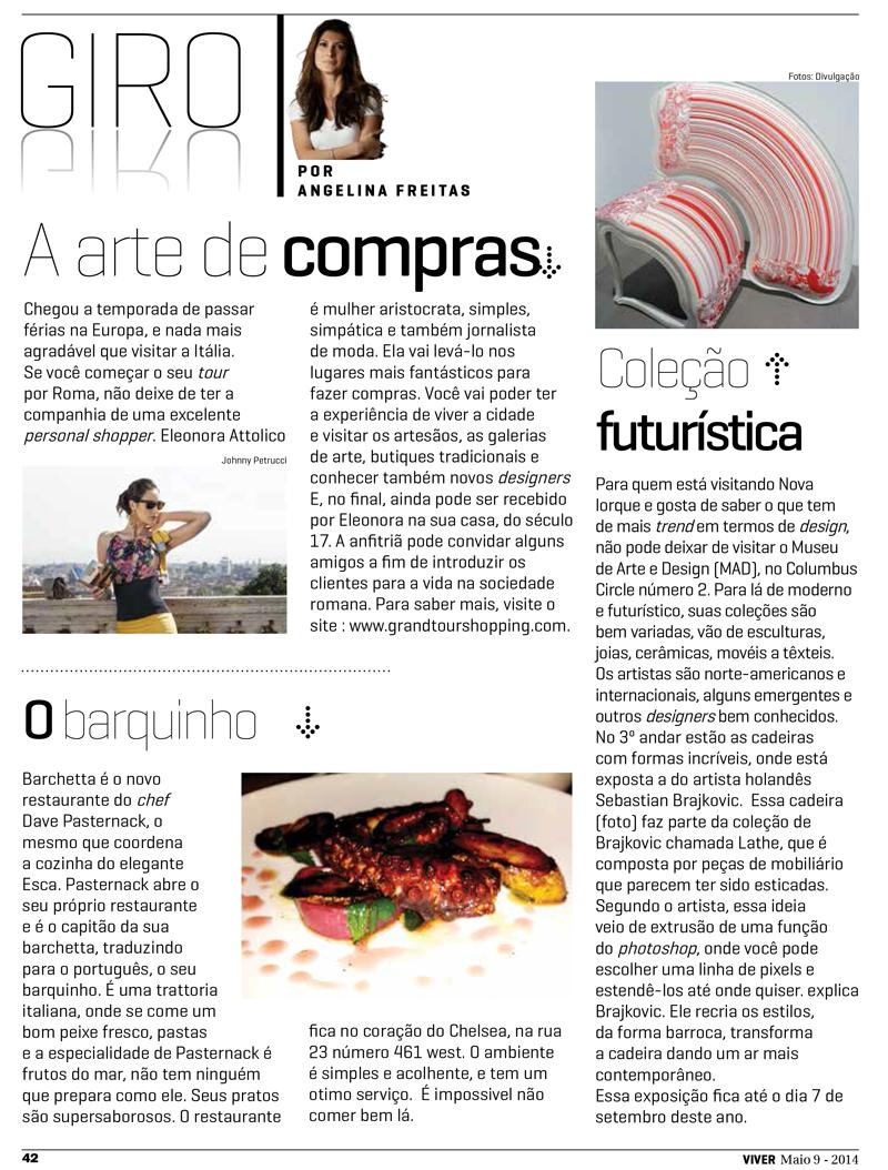 Viver Brasil - Maggio 2014