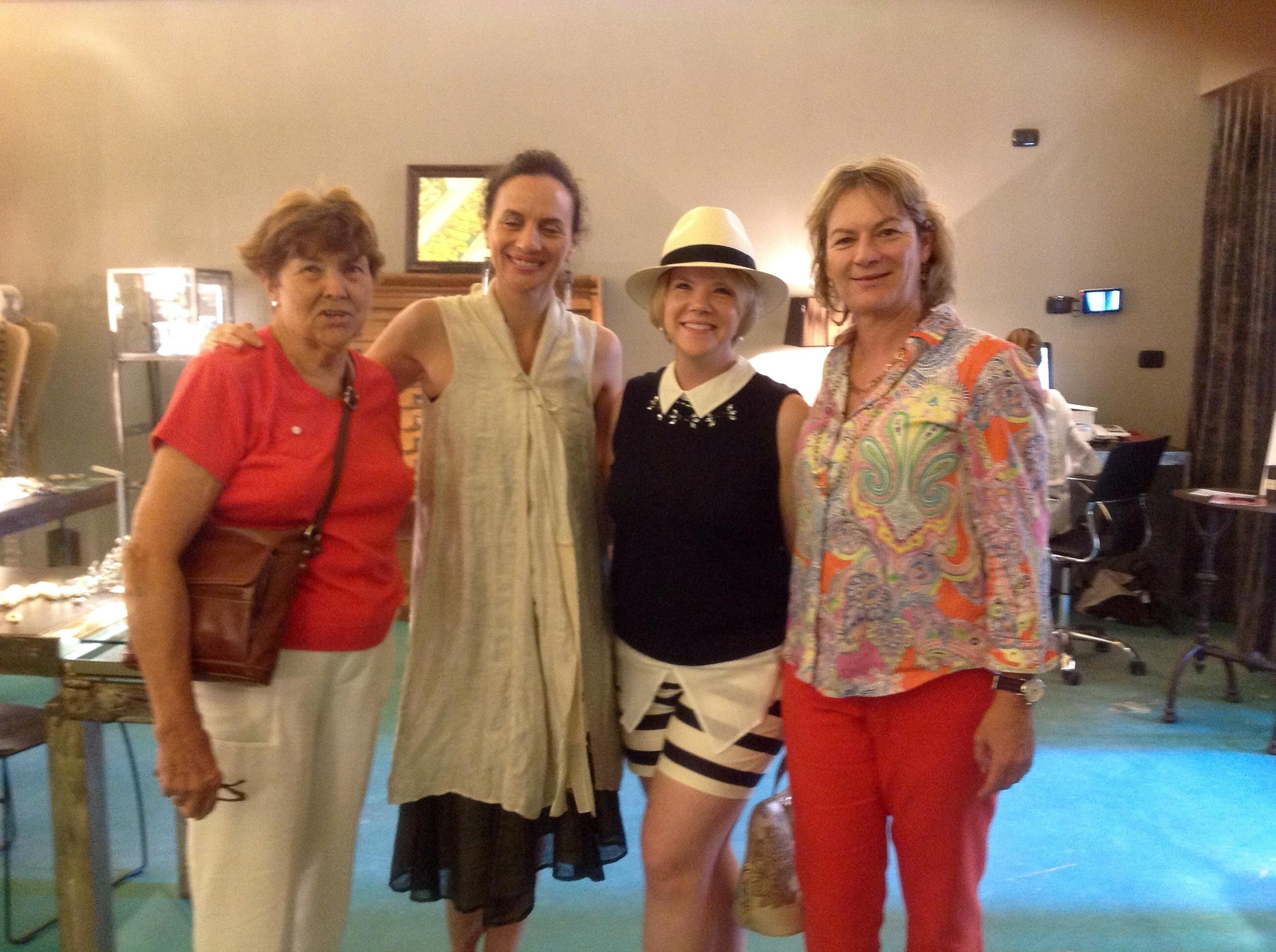 from Left Alberta, Lucia, Linda and Eleonora