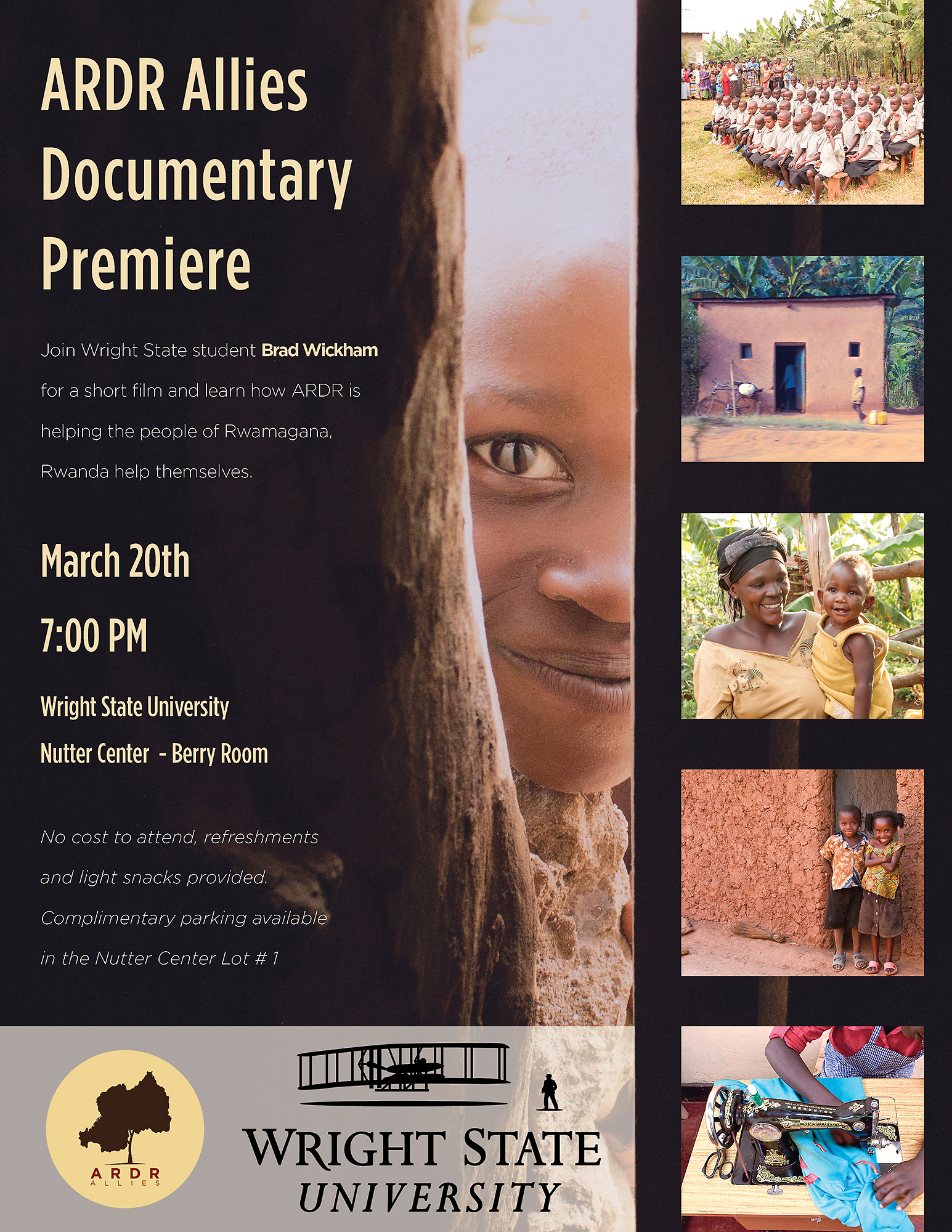 ARDR Allies Documentary Premiere Poster