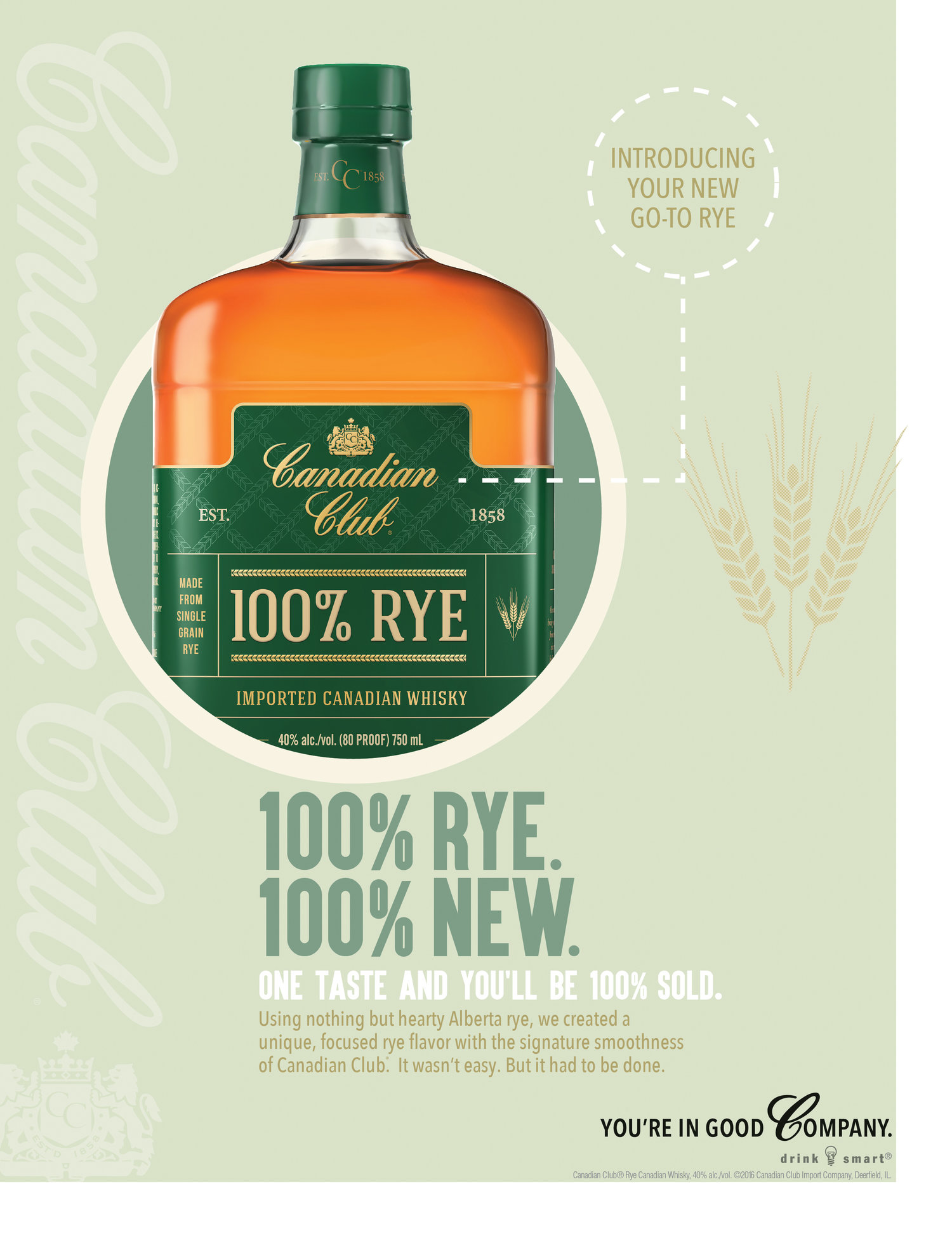 Canadian Club Activation - Rye Visual