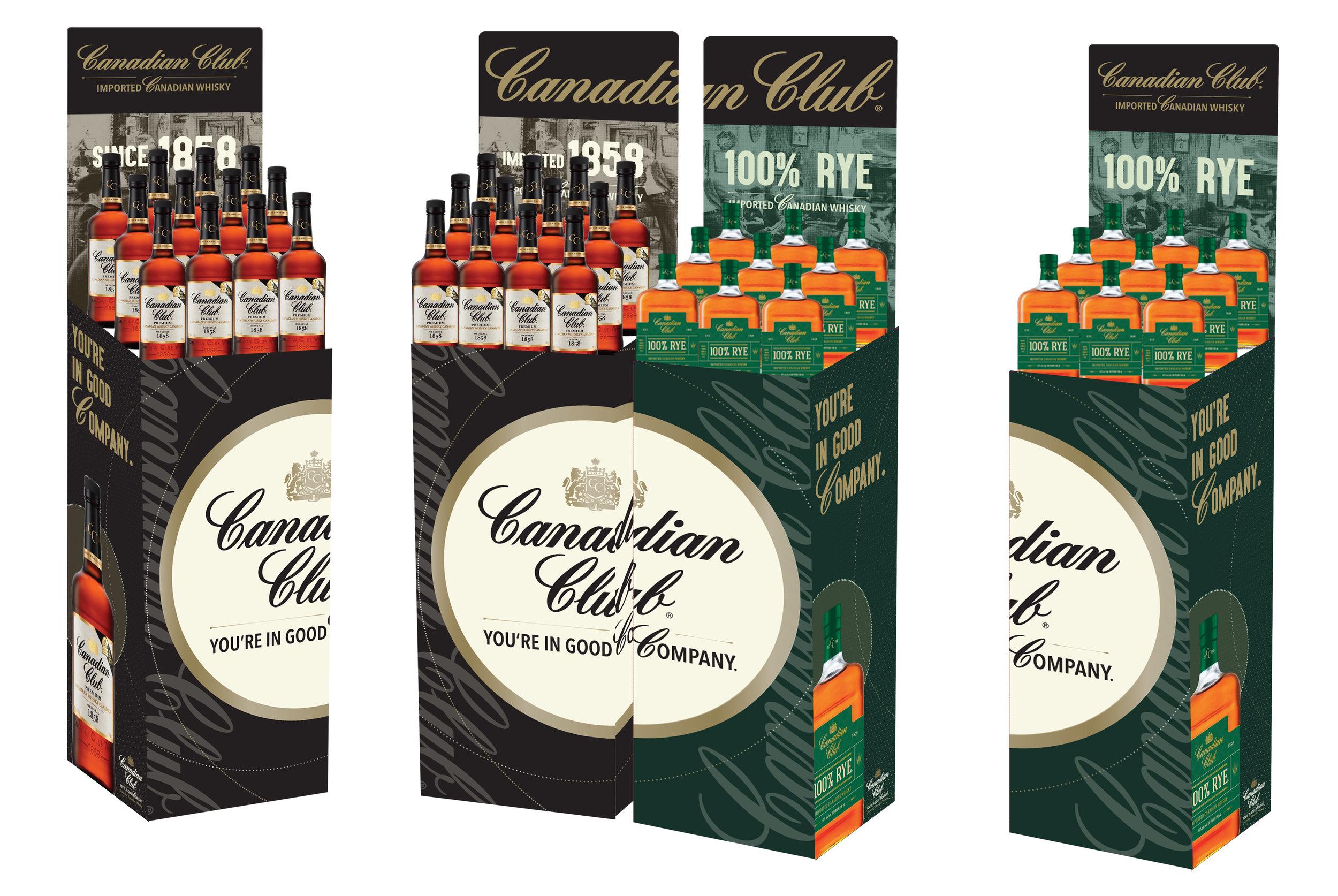 Canadian Club Activation - 3 Case Bins