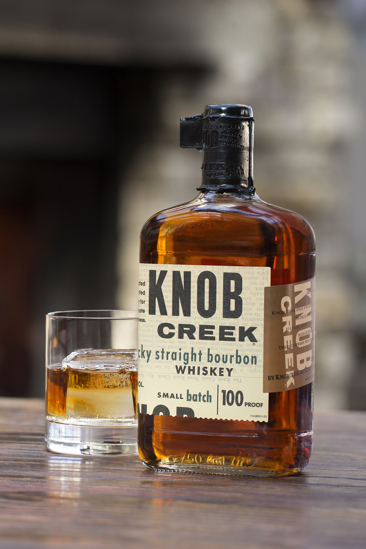 knob creek - Art Direction