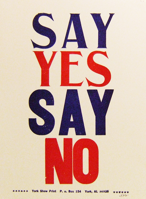 Say Yes Say No