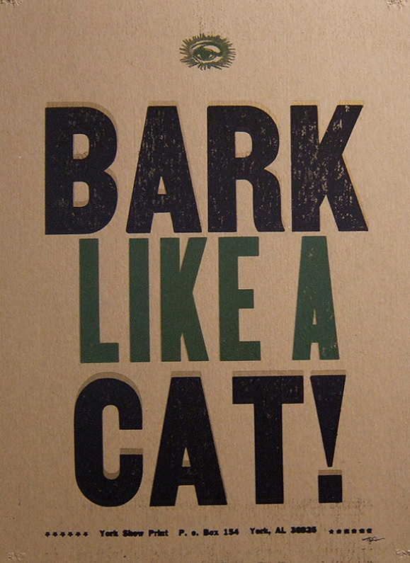 Bark Like A Cat!