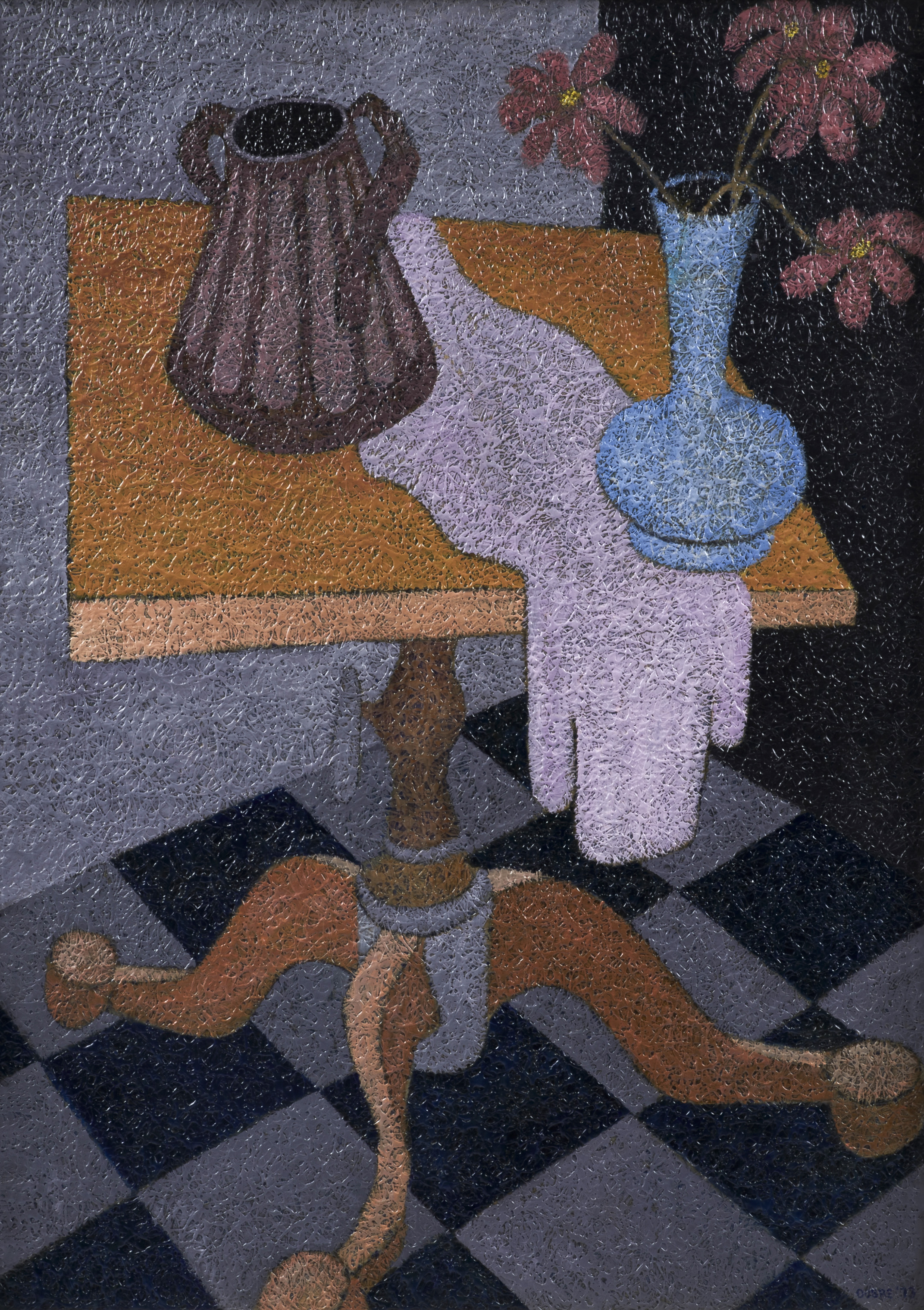 Still Life with Blue Vase