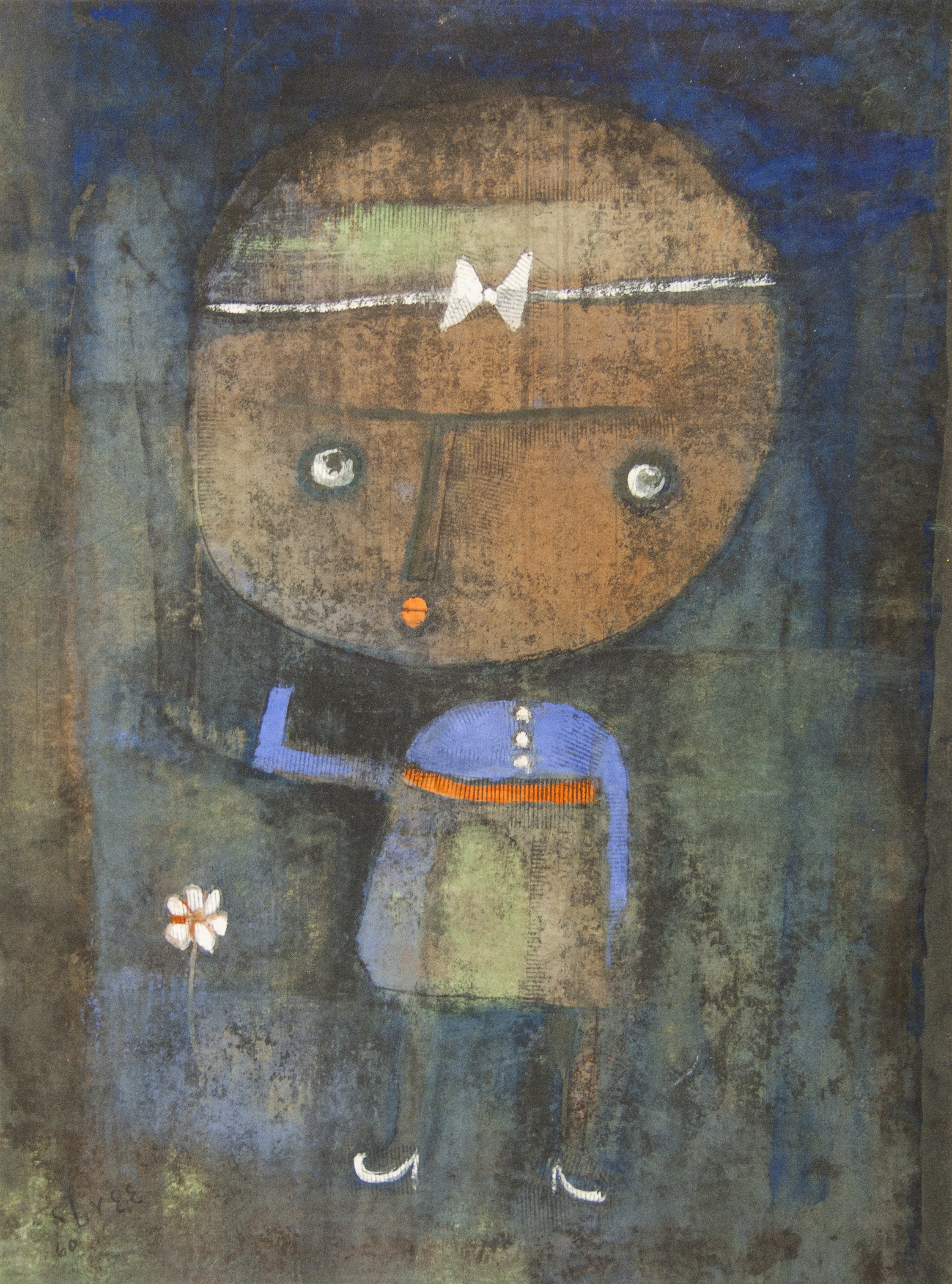 Untitled (Girl With Flower)