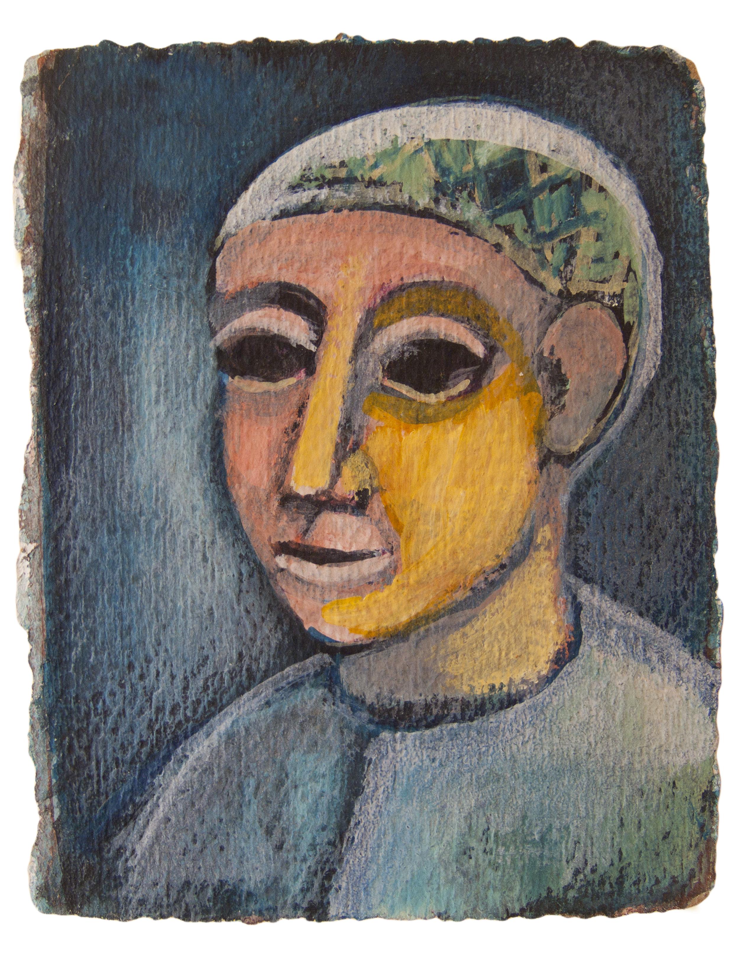 Untitled (Head of a Boy)