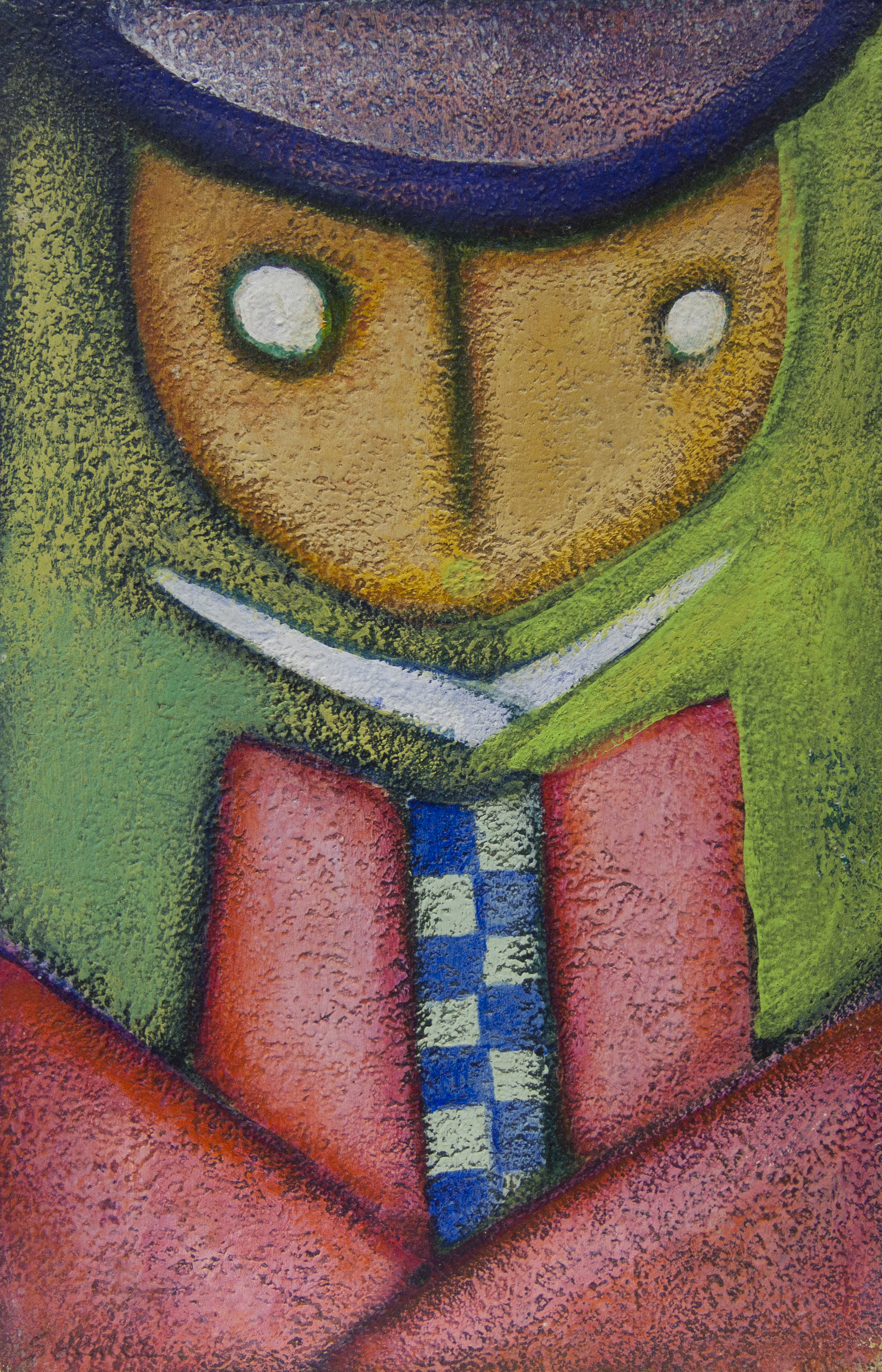 Untitled (Figure With Checkered Shirt)