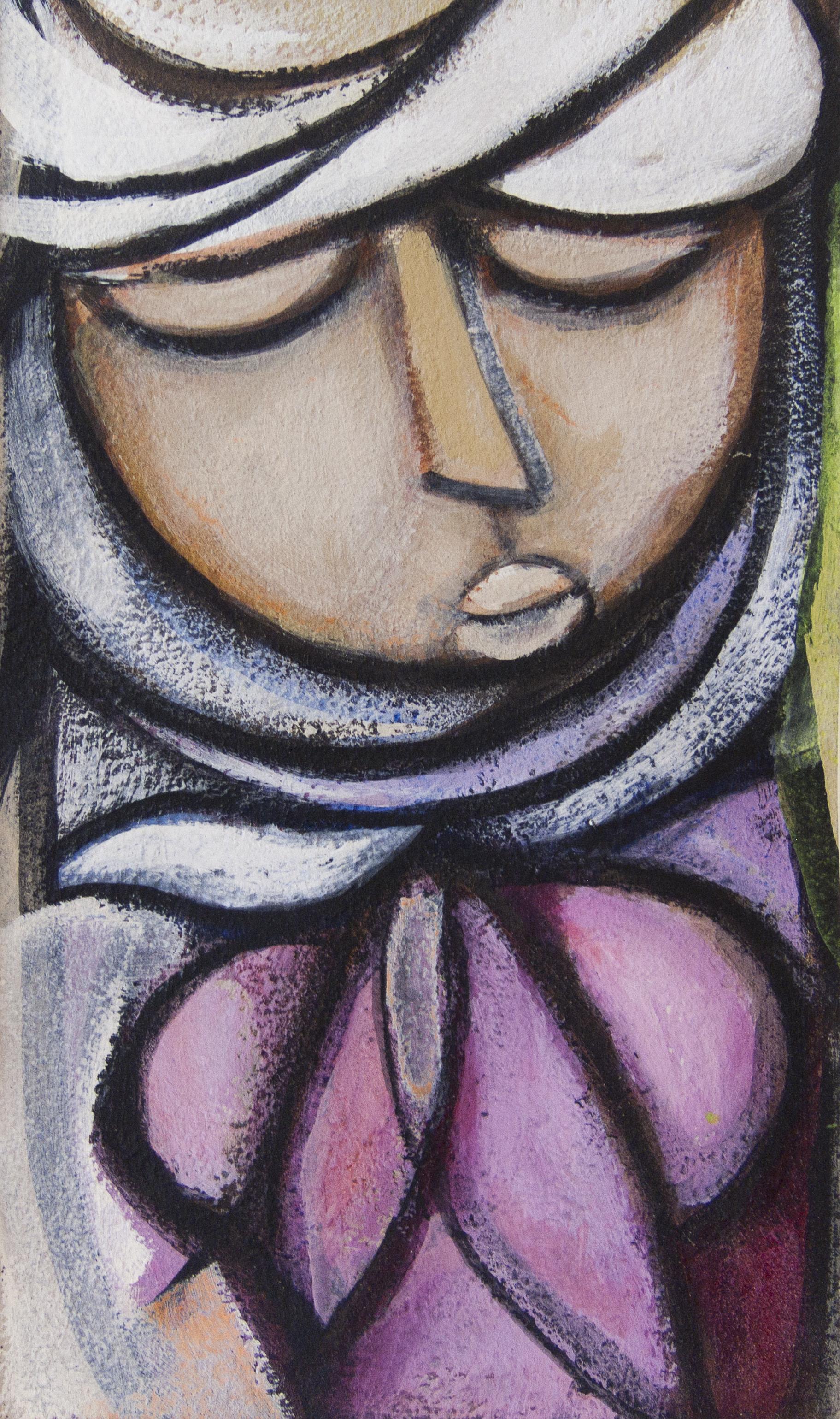 Untitled (Woman in White Headdress)