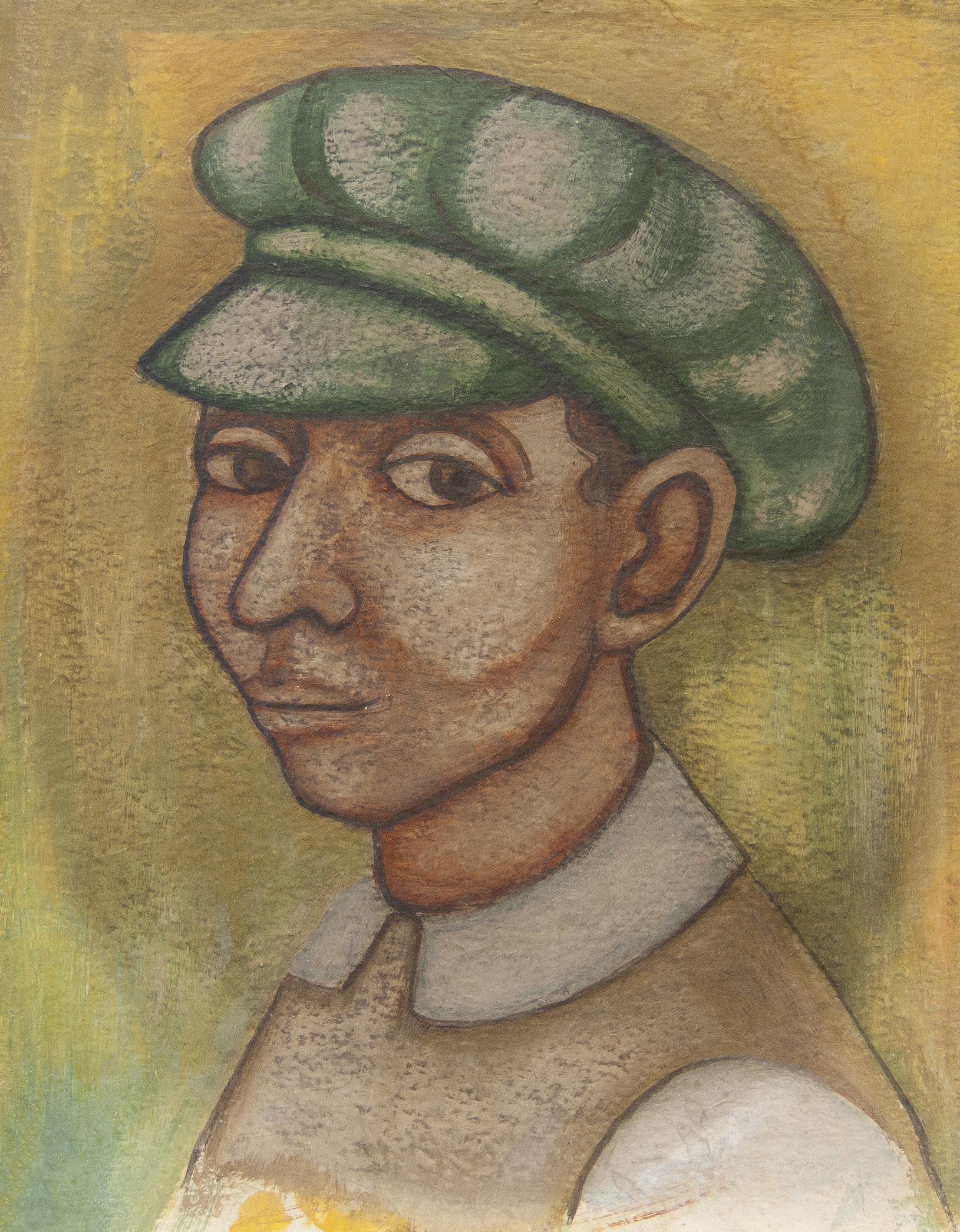 Untitled (Man in a Green Cap)