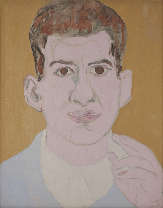 Beauford Delaney (1910-1979) ,  Portrait of a Young Man (Larry Calcagno), 1953