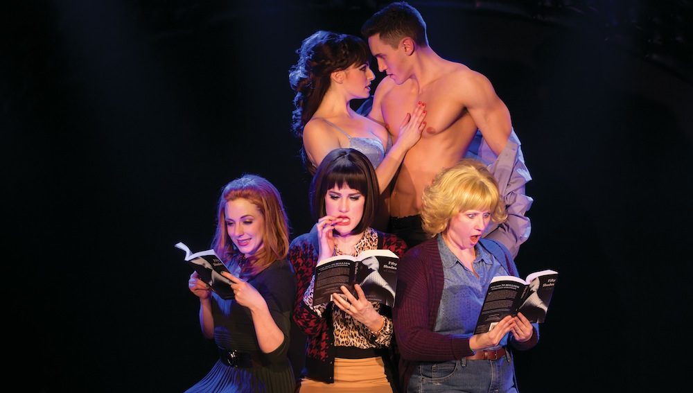 Promotional still from   50 SHADES! THE MUSICAL