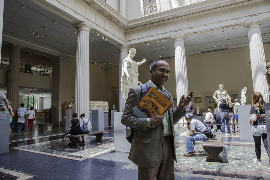 Sree Sreenivasan, Chief Digital Officer at the Metropolitan Museum of Art