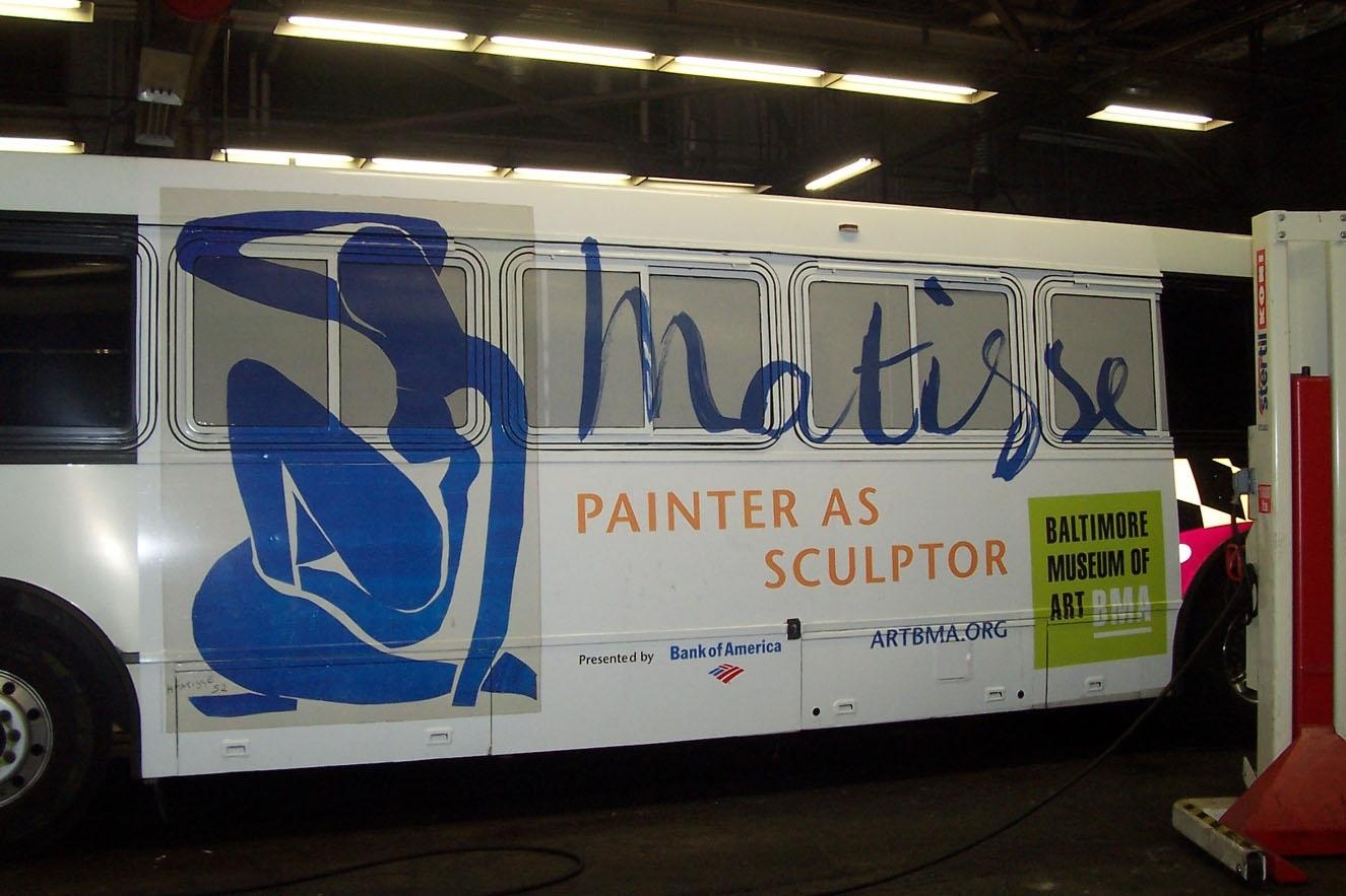 Matisse bus wrap (king kong).JPG