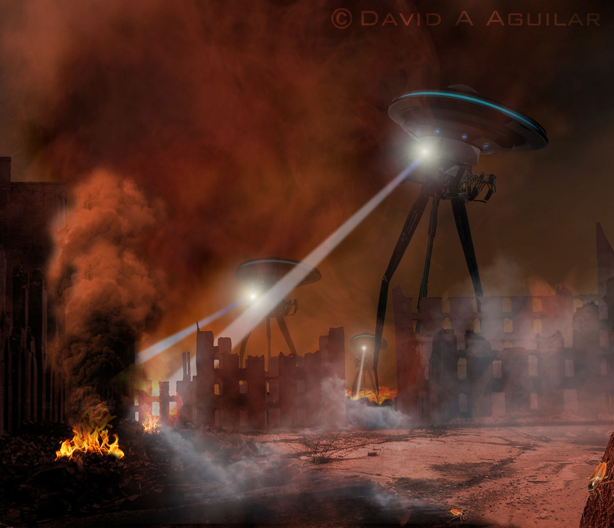 "War of the Worlds from ""Cosmic Catastrophes"""