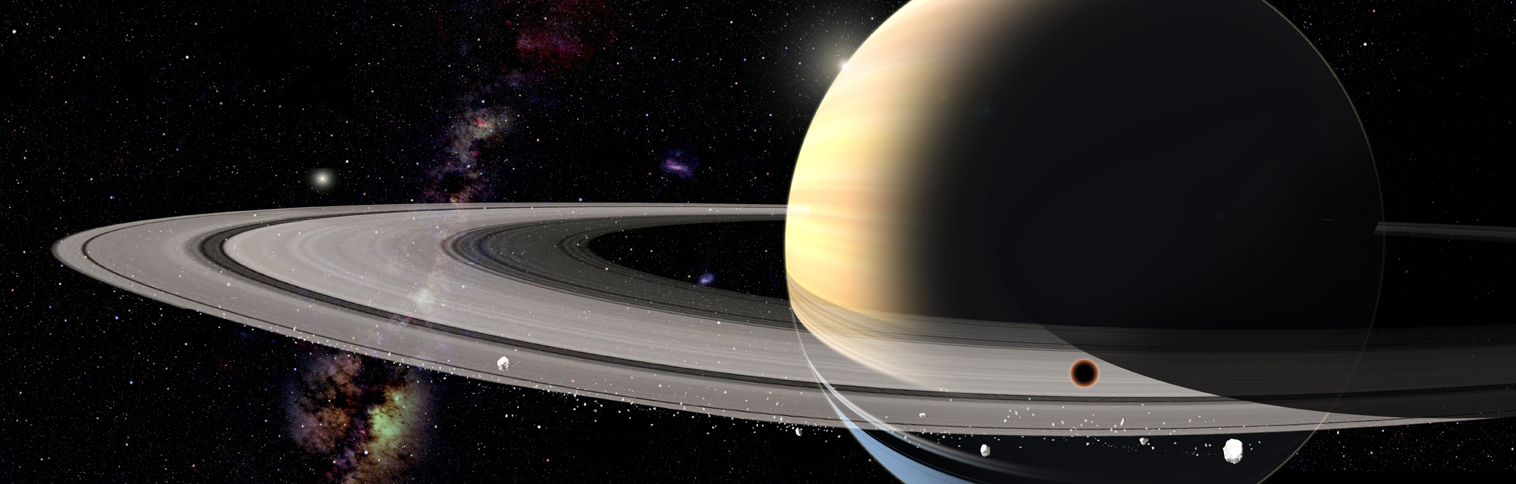 Grand View of Saturn