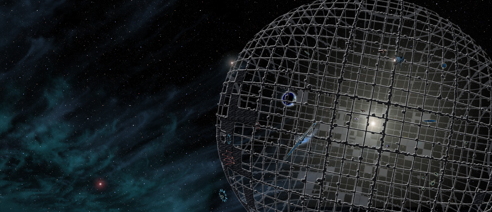 "Dyson Sphere from ""7 Wonders Milky Way"""