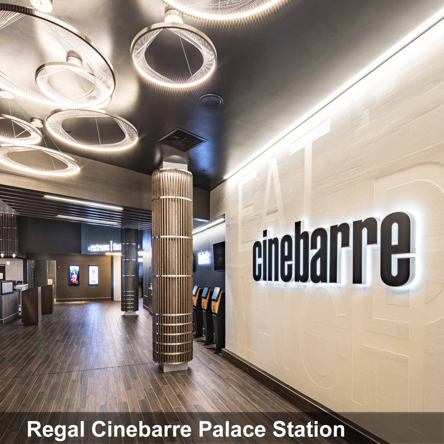 Regal Cinebarre Palace Station