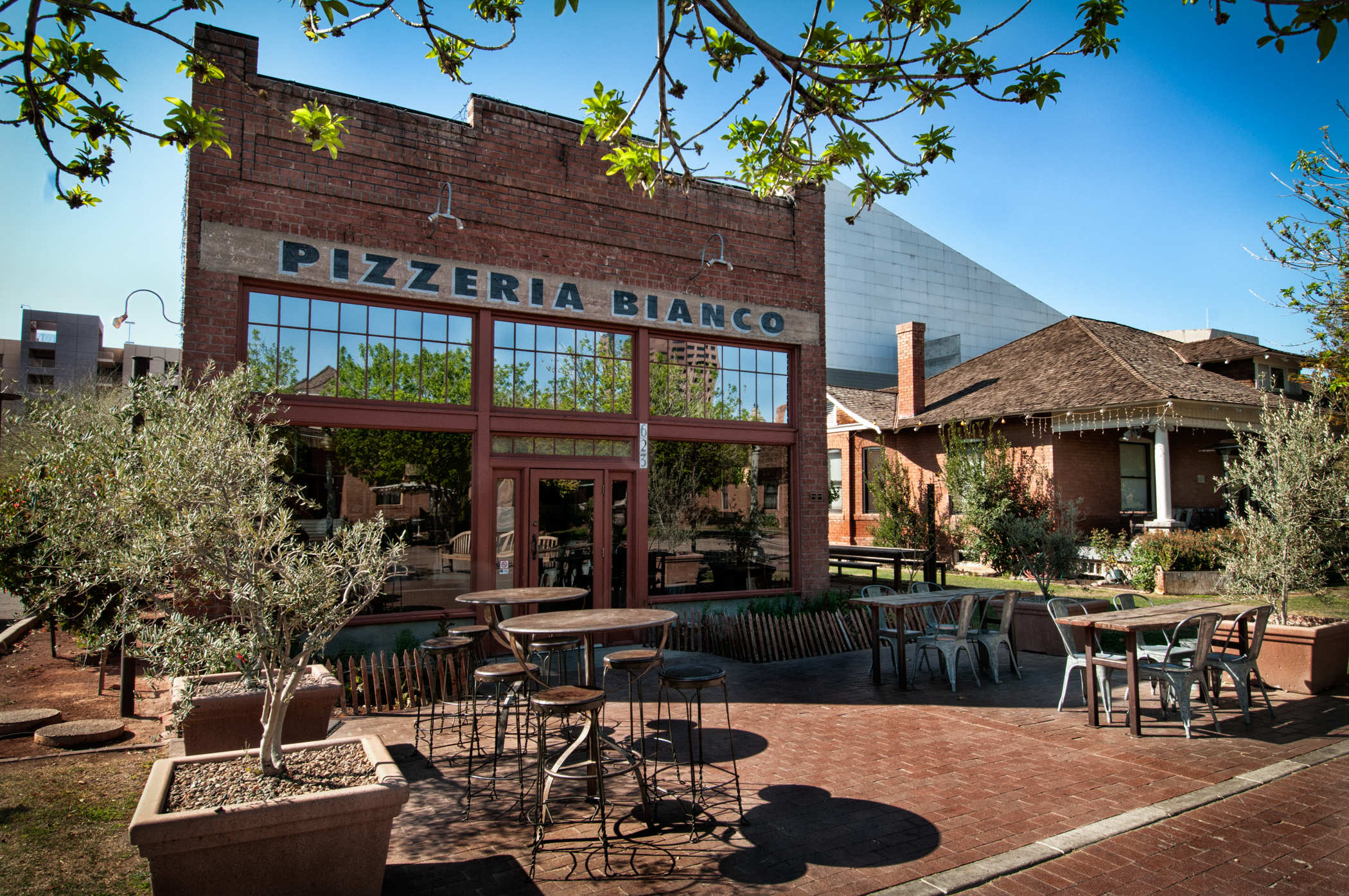 Pizzeria Bianco in Downtown Phoenix' Historic Heritage Square
