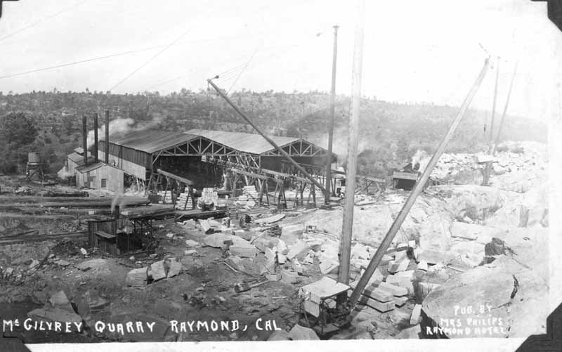 The first quarry.