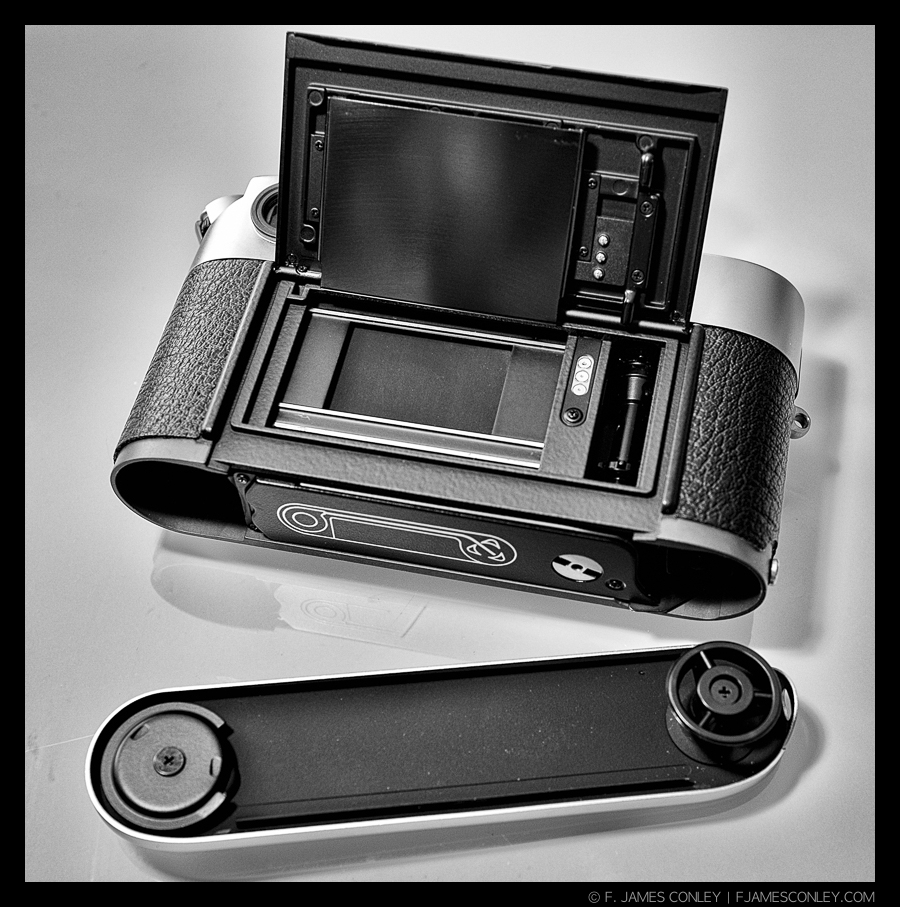 The Leica M6 isn't the fastest film camera to load. Which ismaybe why I pick longer rolls.