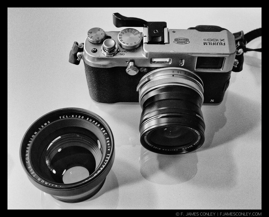 The WCL on the X100s. The TCL on hand. Iopted for black, but they make them in silver, too.